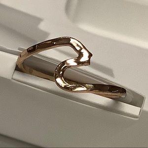 Hamilton Gold Wave Ring